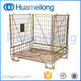 Коробка паллета Demountable складного металла стальная для хранения Preform любимчика