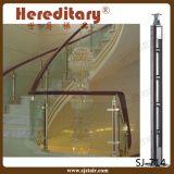 Aluminiumglasbalustrade für Innen- und Außentreppenhaus (SJ-701)