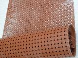 反スリップのゴム製マットか反細菌は空のゴム製マットを巻いた