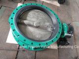 Ferro de molde/válvula de borboleta concêntrica flange Ductile do dobro do ferro