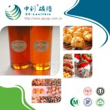 Liquide transparent de lécithine de soja de catégorie comestible (OGM)