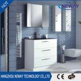 Cabina de cuarto de baño plástica derecha del suelo al por mayor con el espejo