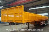3 Aanhangwagen van de Vrachtwagen van de Zijgevel van de Straal van assen de Rechte Semi
