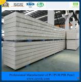 ISO, SGS одобрил панель сандвича Pur цвета 75mm стальную для замораживателя холодной комнаты холодной комнаты