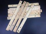 30cm/12 avanza a poquitos la regla de madera perforada orificio con el borde del metal