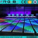 Diodo emissor de luz novo Dance Floor do banquete de casamento do profissional 61*61cm RGB do projeto