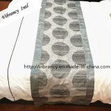 100%年のポリエステル高級ホテルの装飾のベッドのランナーの寝具