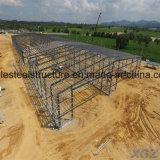 Tettoia di memoria della struttura d'acciaio di prezzi dei kit di costruzione del metallo