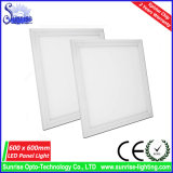 85lm / W 36W 600x600mm vierkante LED Panel