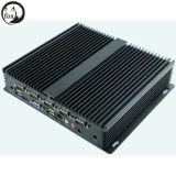 CPU de dual core d'Intel I3 3217u 1.80GHz avec 6 PC sans ventilateur de client mince de COM 6 USB le mini