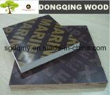 colagem enfrentada película do núcleo WBP do Poplar da madeira compensada de 1220X2440mm Brown duas vezes pressionadas