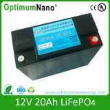 LiFePO4 Battery 12V 20ah Rechargeable Lithium Battery für UPS