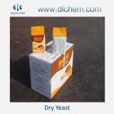 Levedura seca instantânea com açúcar alto e baixo