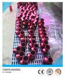 ASME B16.9 die PT de Naadloze Montage van de Pijp van het Roestvrij staal testen