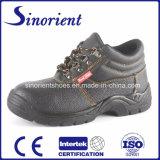 Sapatas de segurança de couro industriais com certificado RS8103 do Ce
