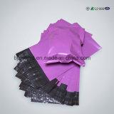 제조자는의 손잡이, 지퍼를 가진 비닐 봉투를 가진 PE 비닐 봉투를 위로 서 있다
