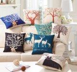 工場アラブ首長国連邦の販売のソファーのクッションはクッションカバーを印刷した