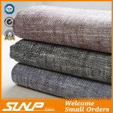 Tela del lino de la gata/viscosa para la materia textil casera