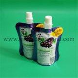 Aangepaste Verpakking Doypack met de Dranken van het Fruit van Spuiten
