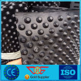 高い引張強さのプラスチック土工作業の景色の窪みの排水のボードか版または膜