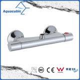Le laiton de douche de salle de bains passé au bichromate de potasse Anti-S'ébouillantent le taraud thermostatique (AF4156-7)