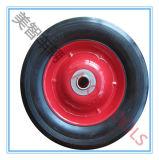 Rotella di gomma solida del carrello del vagone del giocattolo del pneumatico da 6 pollici