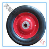 6 Zoll-festes Gummireifen-Spielzeug-Lastwagen-Karren-Rad