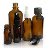 Alta qualidade frascos ambarinos do conta-gotas de 10 Ml euro- para petróleos essenciais