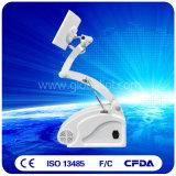 Terapia ajustável da pele/cara do equipamento do diodo emissor de luz de PDT (US787)