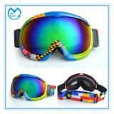Оптовые ультрафиолетов солнечные очки зимы для вспомогательного оборудования катания на лыжах