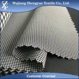 Tessuto di stirata a quattro vie dello Spandex del poliestere del catione del plaid per i pantaloni del vestito