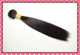 "Unprocessed бразильское Virgin Hair Extension Silky Straight Weaving 18 "" 100g Natural Black Color"