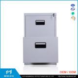 Gabinete de arquivo do metal da gaveta da alta qualidade 2 do fornecedor de China/ficheiro escritório do armazenamento