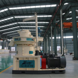 Hölzerne Lebendmasse-Reis-Hülse-Dieselbewegungstablette, die Maschine herstellt