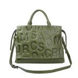 Lady Fashion Handbags Genuine Leather Shoulder Tote Bag