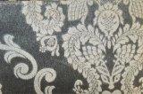 Tela 100% de matéria têxtil gravada do poliéster de veludo (EDM5163)