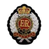 警察責任者の巡査の帽子の記章パッチ