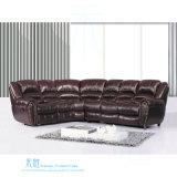 Modernes ledernes Recliner-Sofa für Heimkino (DW-6013S)
