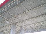 Grade pré-fabricada bonita da construção de aço para o parque de estacionamento