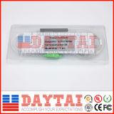 FTTH Sc/APC 0.9mm PLC van de Wijze van de Vezel Optische Enige Splitser 1*2