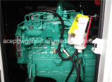 Gerador elétrico Diesel silencioso trifásico de 60Hz Cummins 40kVA