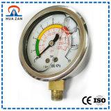 """2.5 """"Manometro alta pressione Cassa in acciaio normale Manometro con alta precisione"""