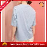 Vente en gros ordinaire élégante de T-shirt en bambou blanc