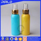 bottiglia di plastica dello spruzzo dell'animale domestico 100ml dell'imballaggio liquido cosmetico di plastica della bottiglia con la protezione del metallo