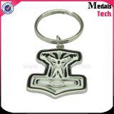 Free Design Metal Soft Esmalte 3D Logo Die Casting Llavero con SGS