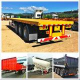 Semi aanhangwagen, 50-80 van de nutston aanhangwagen, ladingsaanhangwagen, vrachtwagenaanhangwagen
