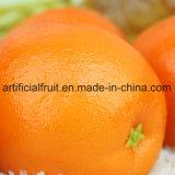 인공적인 주황색 오렌지 모형