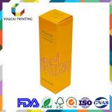 El cosmético compone el rectángulo de papel del conjunto de la cartulina