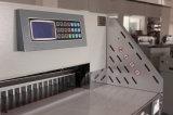 (WD-520R) máquina de estaca hidráulica do papel do Programa-Controle de 80mm
