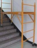 1000lb. 容量の多目的圧延の鋼鉄調節可能な6FT足場
